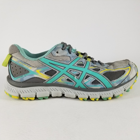 new products 87284 eb649 ASICS Gel-Scram 3 Women's Athletic Shoes 7.5 Gray
